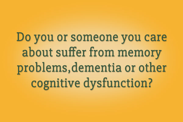 Do you or someone you care 